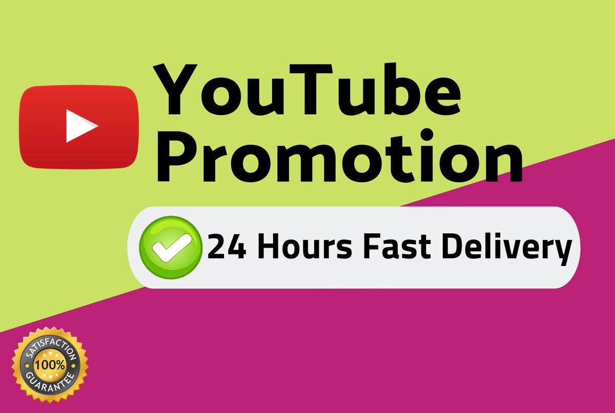 Instant HQ Video Views Non Drop Safe promotion