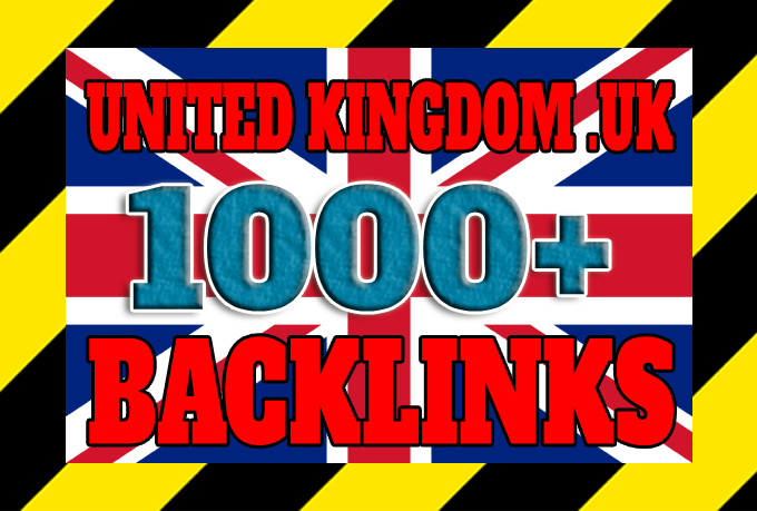 Get 1000+ United Kingdom based backlinks from local UK domains