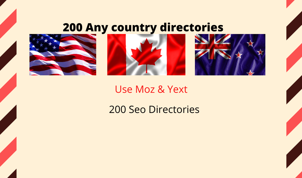 50 any country local web directory for SEO ranking