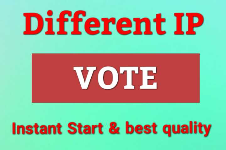 Win Guaranteed Any Online Contest Votes With Unique IP Polls