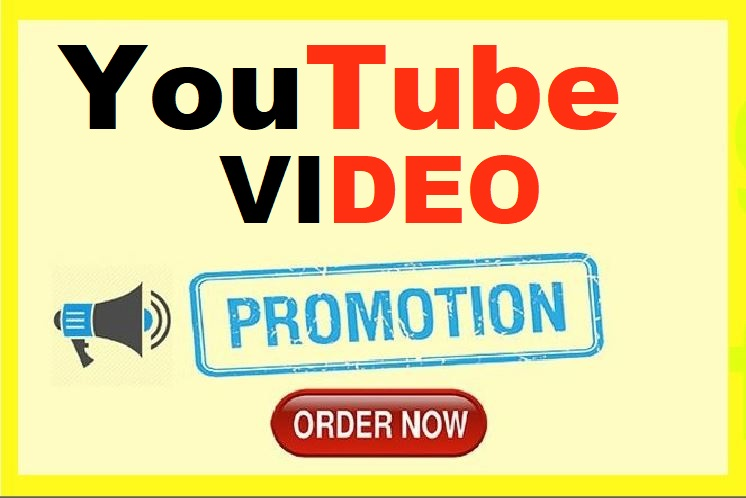 YouTube Video Promotion Worldwide Real User Audience