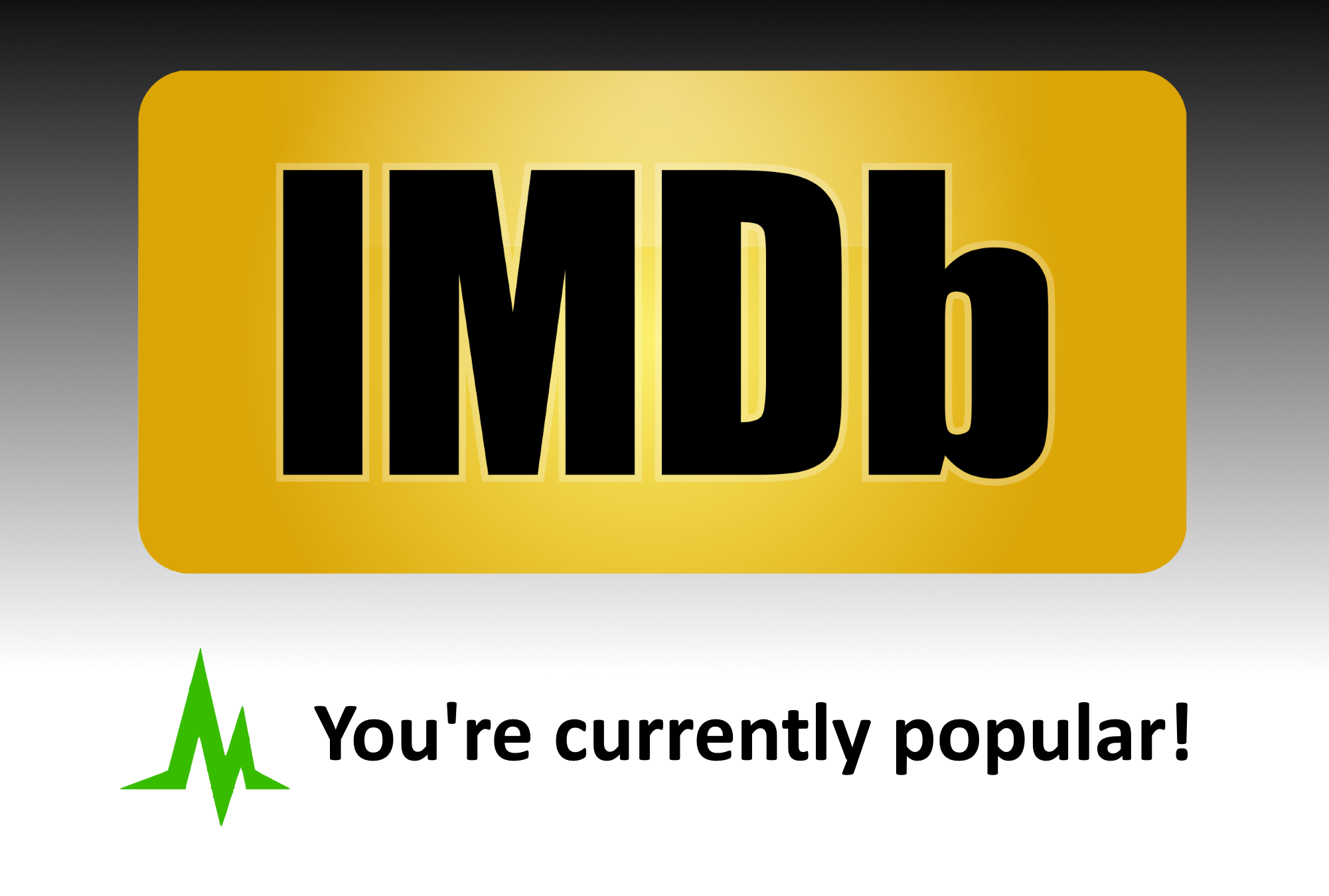 Promote your IMDb profile page