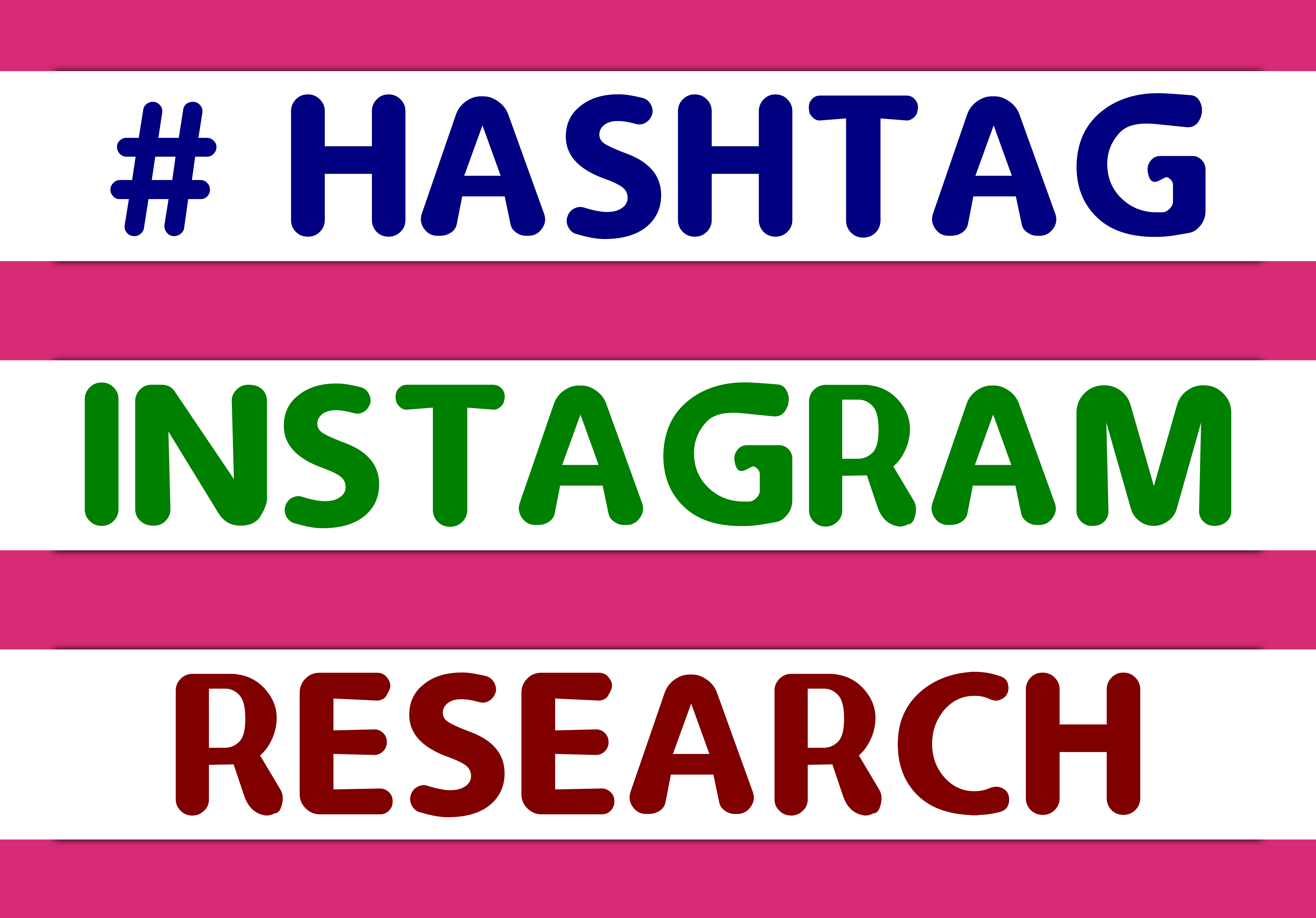 Keyword research 30 hashtags to grow your Instagram