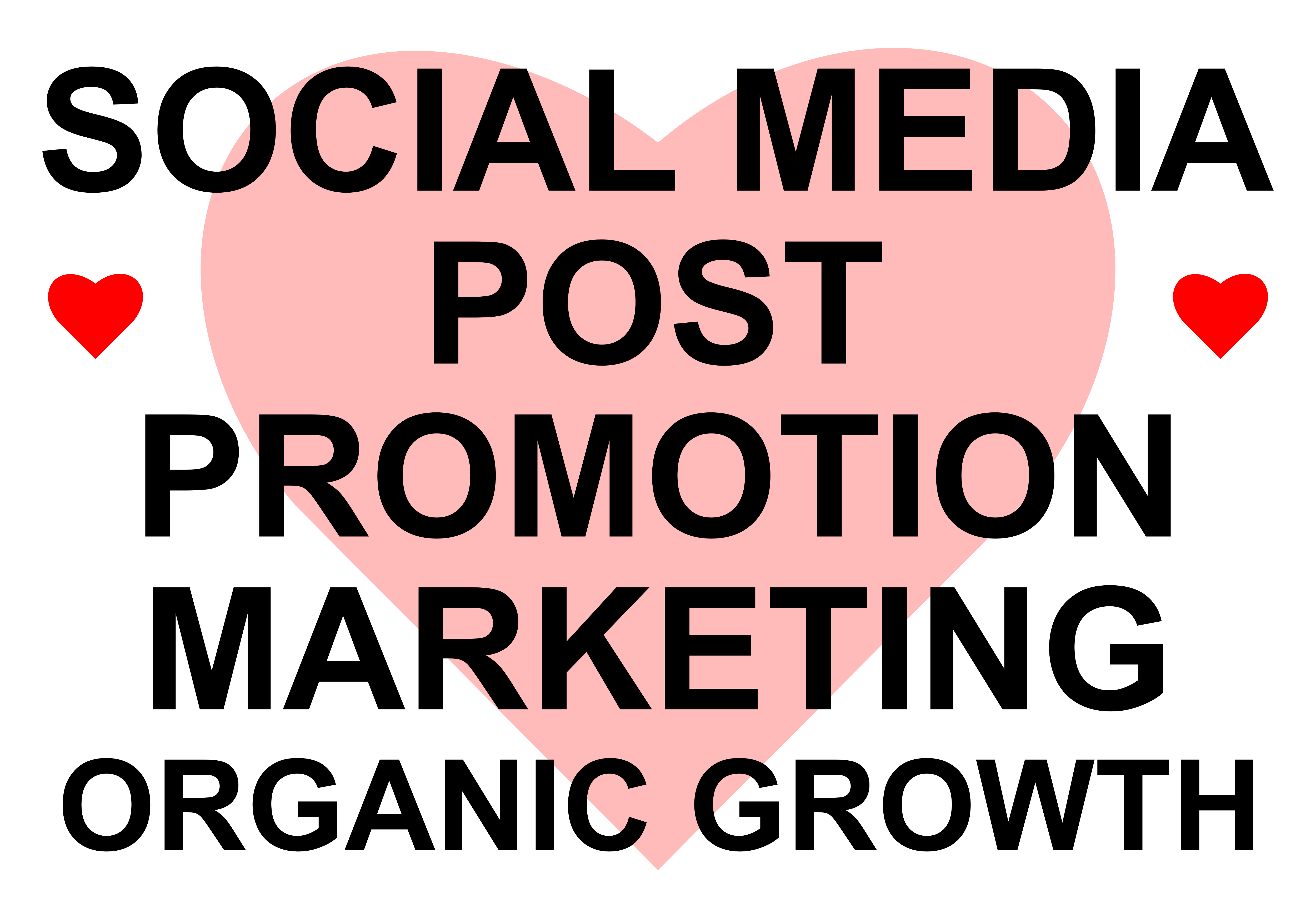 Do post promotion and marketing for organic growth