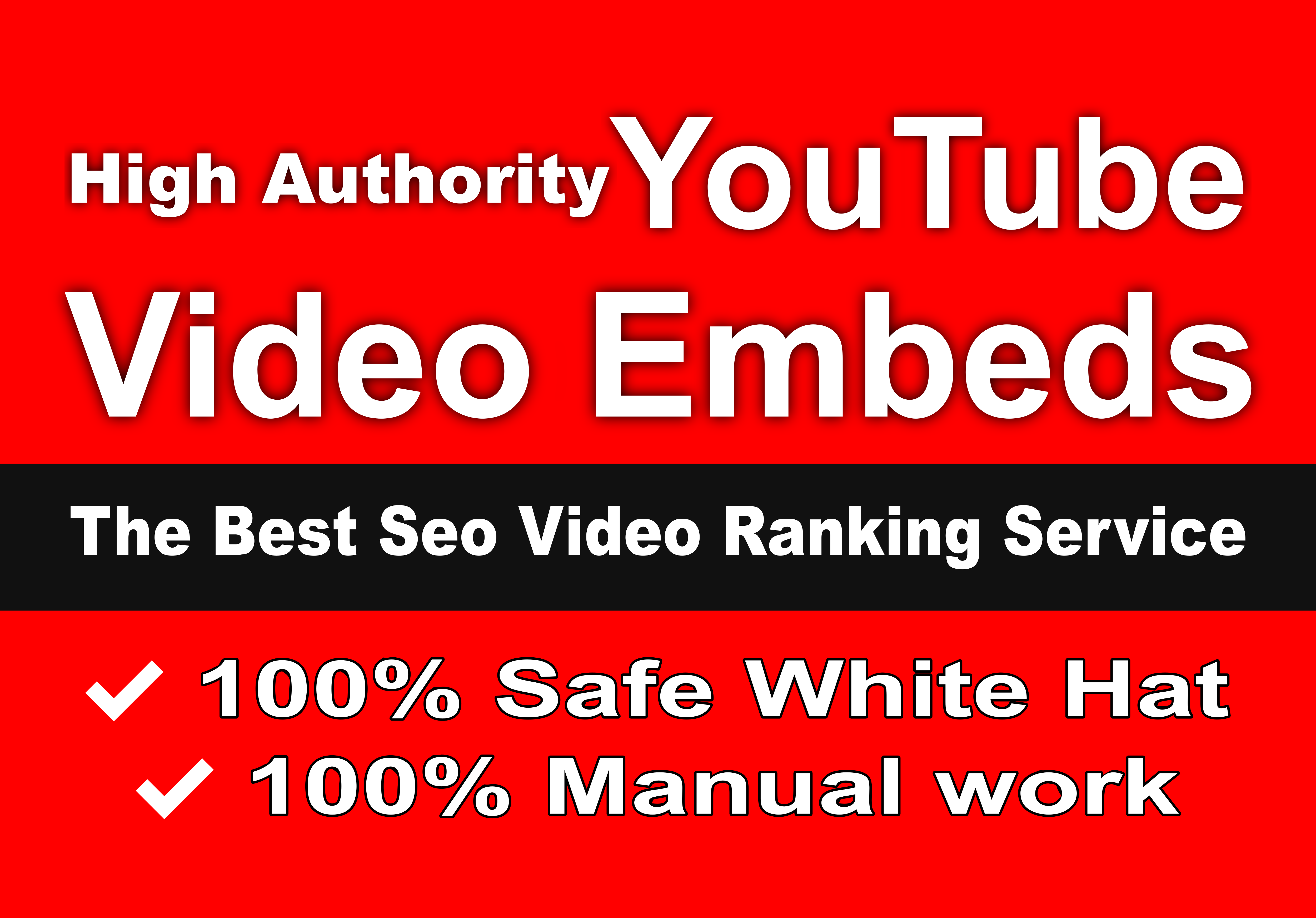 Embed Youtube video into 15+ high PR web 2 sites