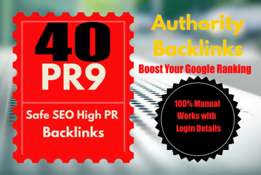 Get 40 High Authority Profile Backlink From DA 60+ All PR 9-6 UNIQUE Domain