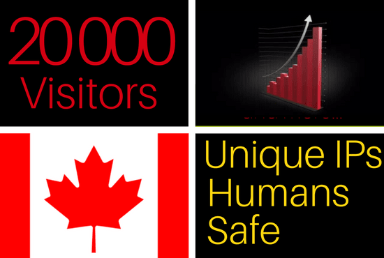 20k Canada Real Targeted Website Traffic