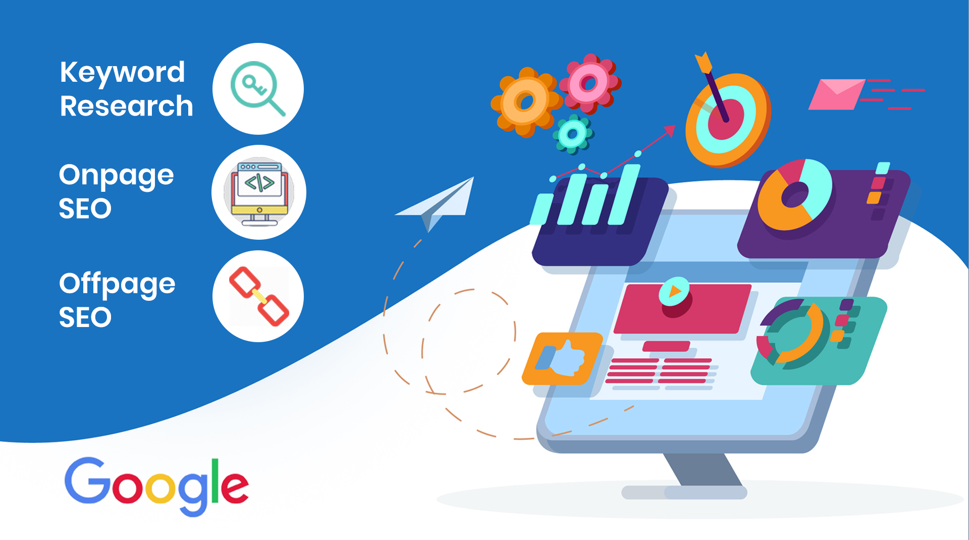 Complete monthly SEO service to get top ranking on Google