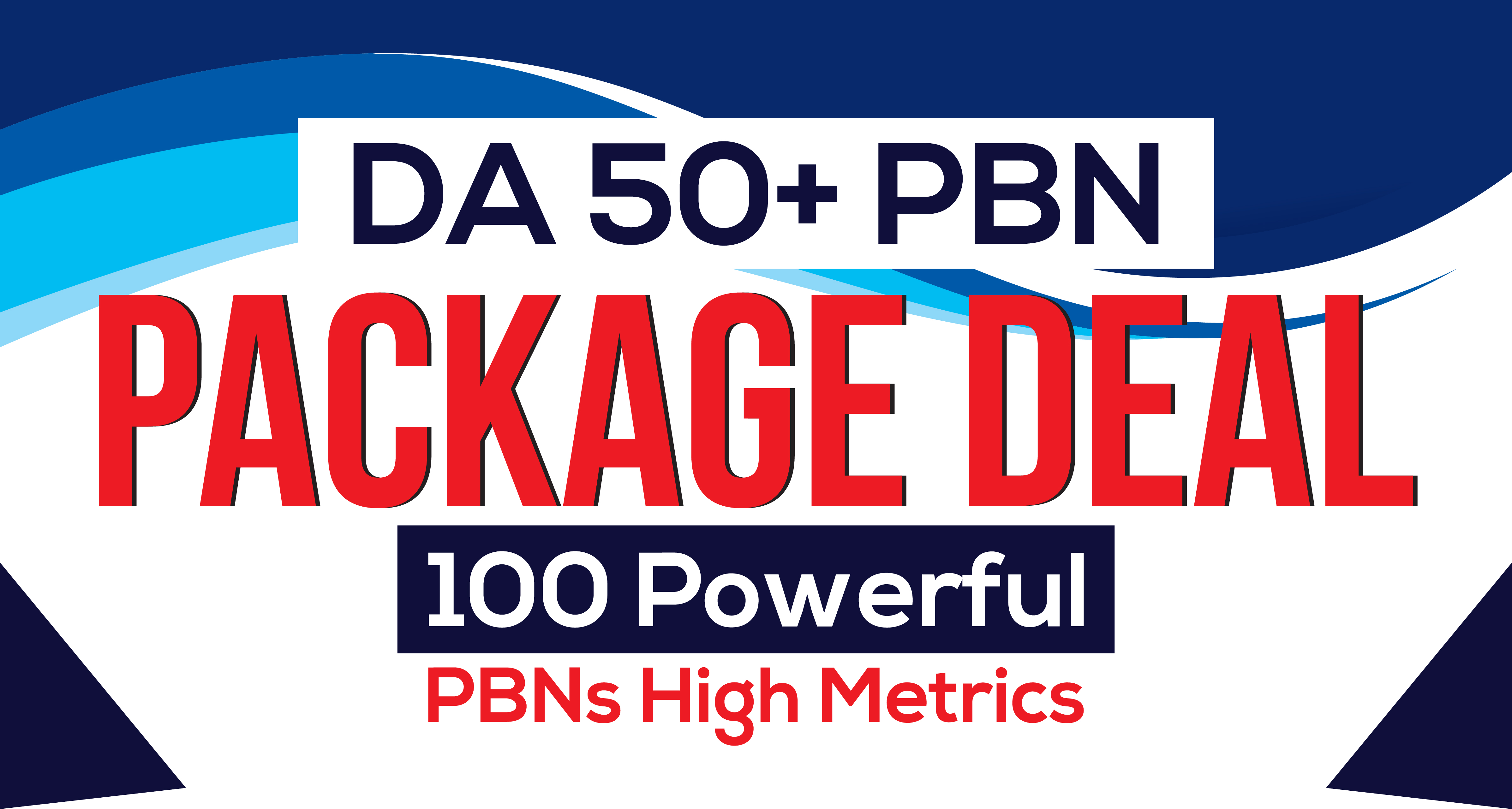 do 100 high quality backlinks from our PBN Network