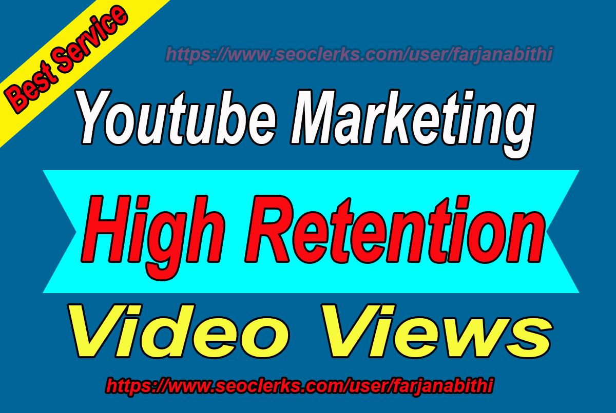 BOOM! BOOM! Offer!! Professionally Youtube Video Marketing and Youtube Music Promotion