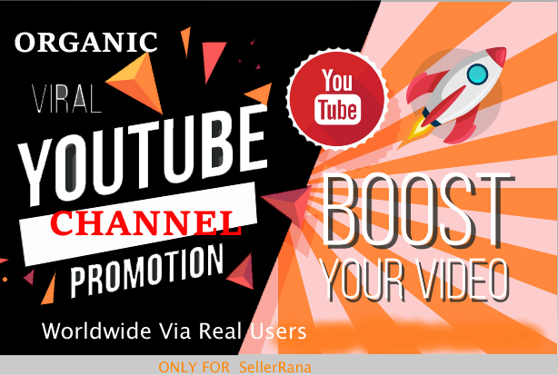High Quality Channel Promotion Via Real Human User