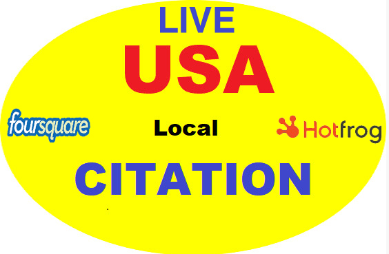 I will Do Manually TOP 100 Live USA Local Citation/Listing for Local SEO. Satisfaction Guaranteed !!