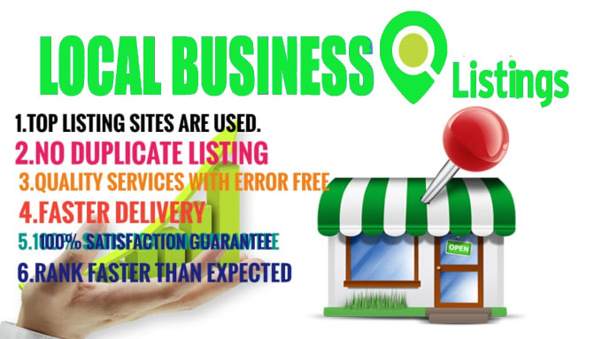 I will Do Manually TOP 70 Live CA/UK/US/AU Local Citations for Local SEO. Satisfaction Guaranteed!!