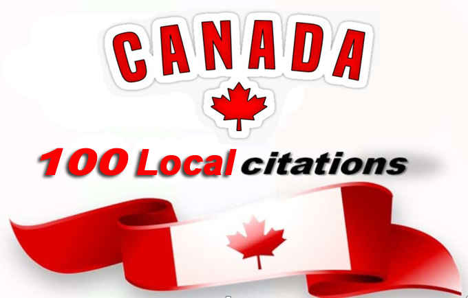 I will do best CANADA Live local SEO citations/Listings. Satisfaction Guaranteed