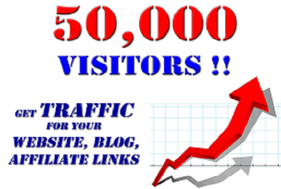 Preferable 50,000+ Website Traffic