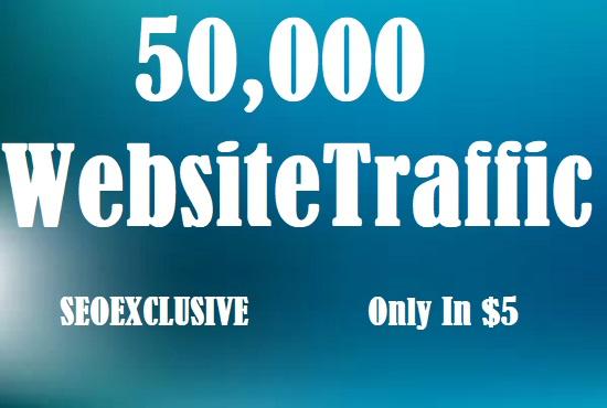 50000 Universal Website Traffic