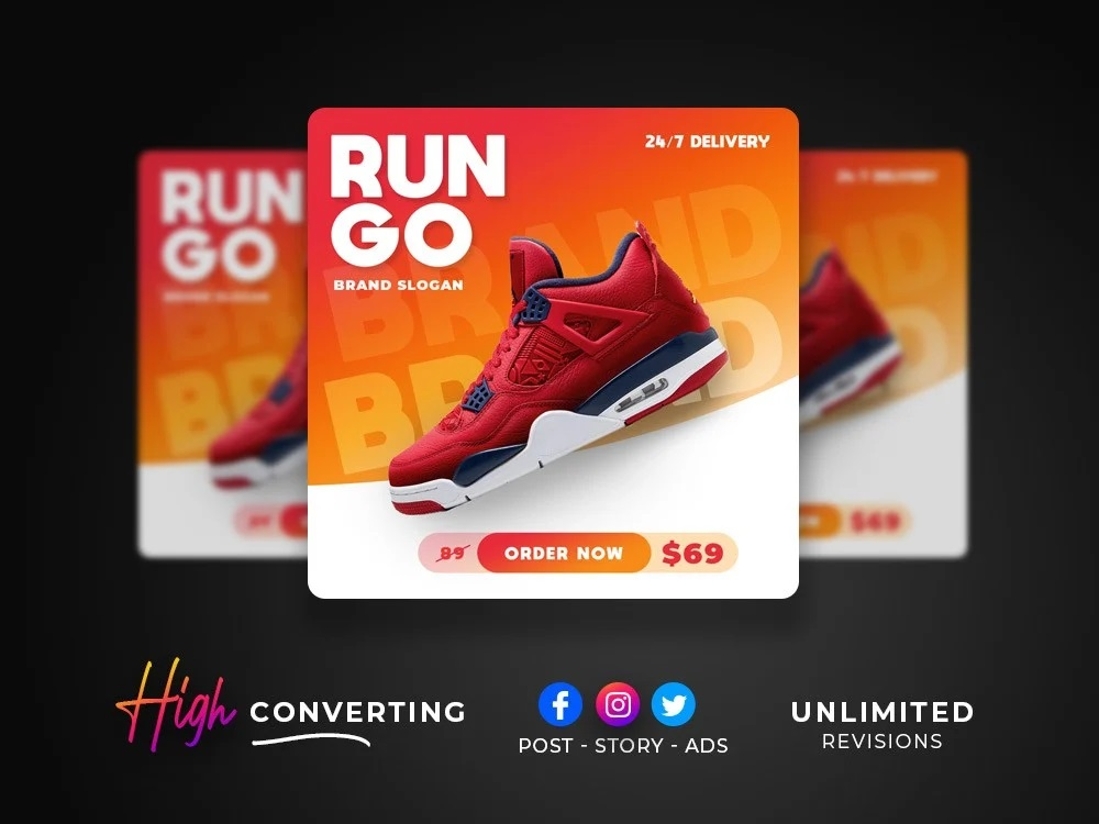 creative Facebook or Insta Post , Banner, Ads, Cover, Story
