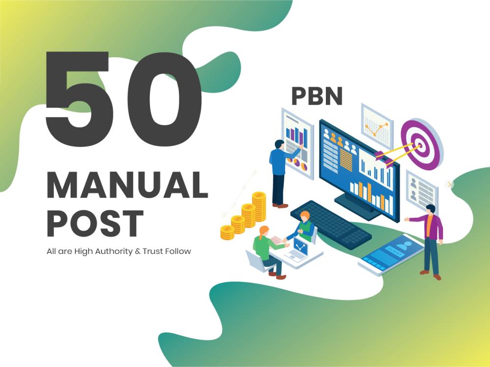 50 high metrics PBN posts DA 50 Plus on contextual backlinks