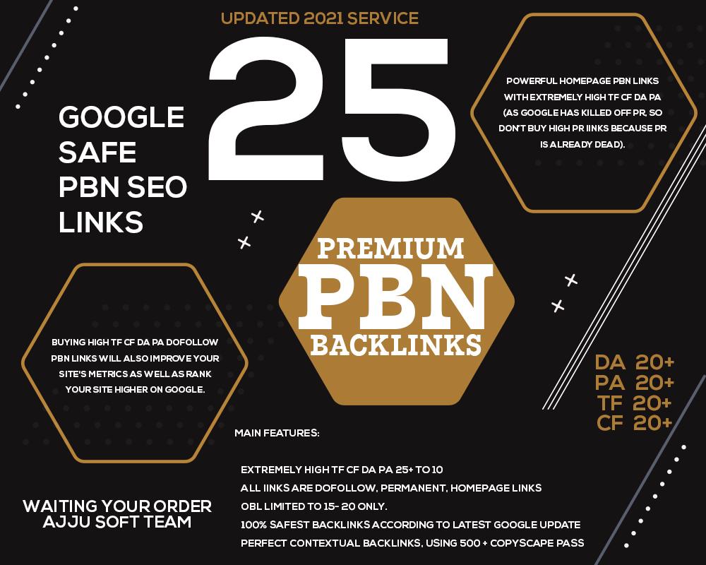 25 PBN POST - Spam free pbn websites - high TF CF DA PA SEO Backlinks