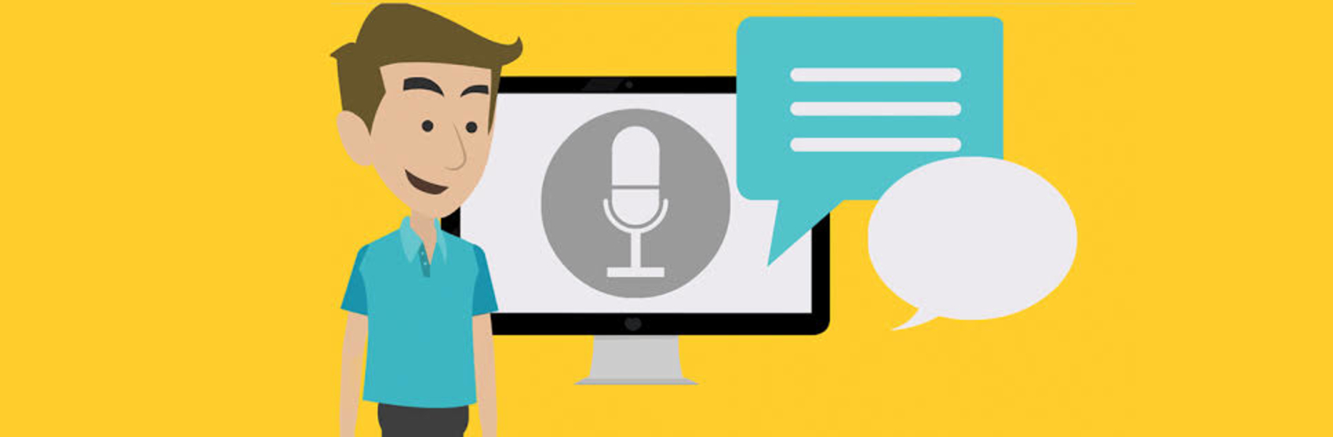 Voice Over with sample article + sample voice