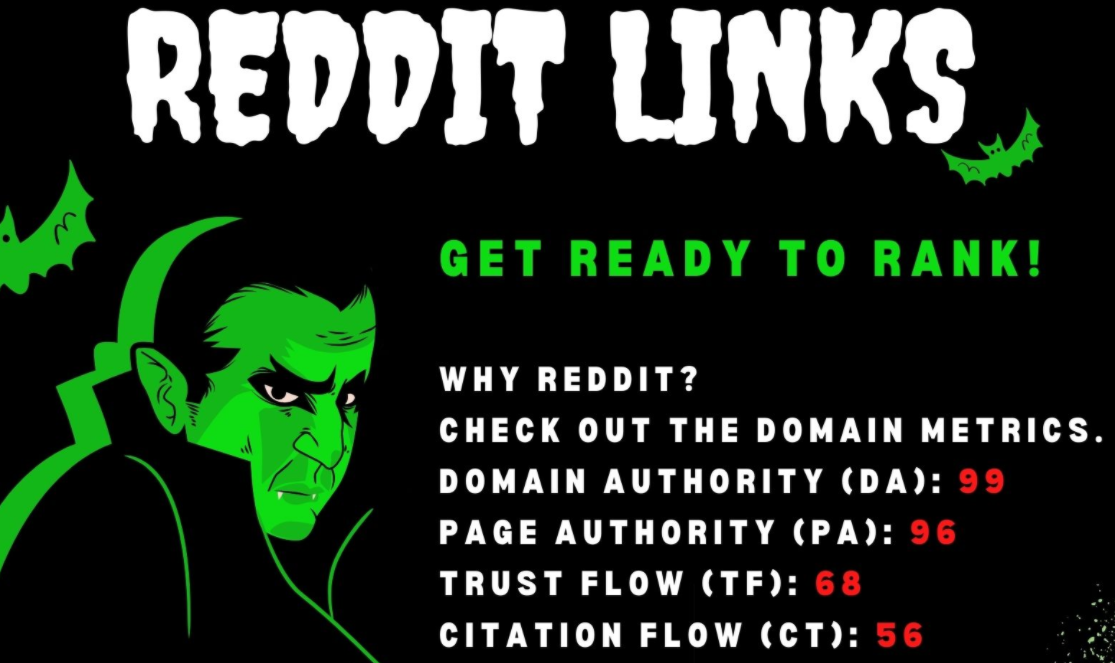 BOOST YOUR WEBSITE IN GOOGLE SUPERSTRONG Backlinks From Reddit RANK 1