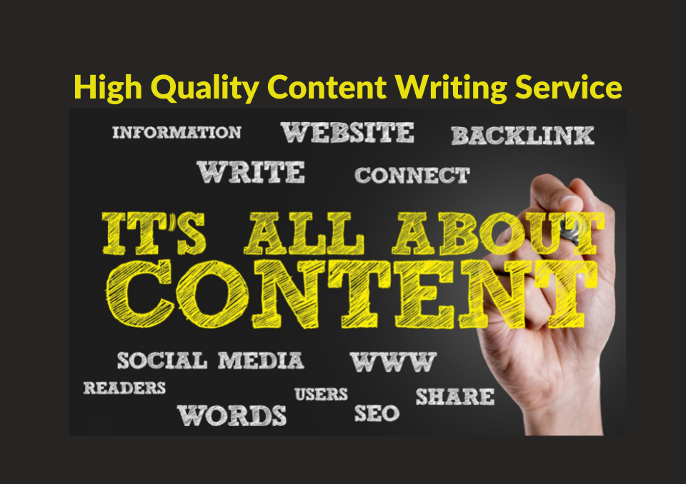 4 High-Quality Blog Post Every Week with Low Competition Keywords