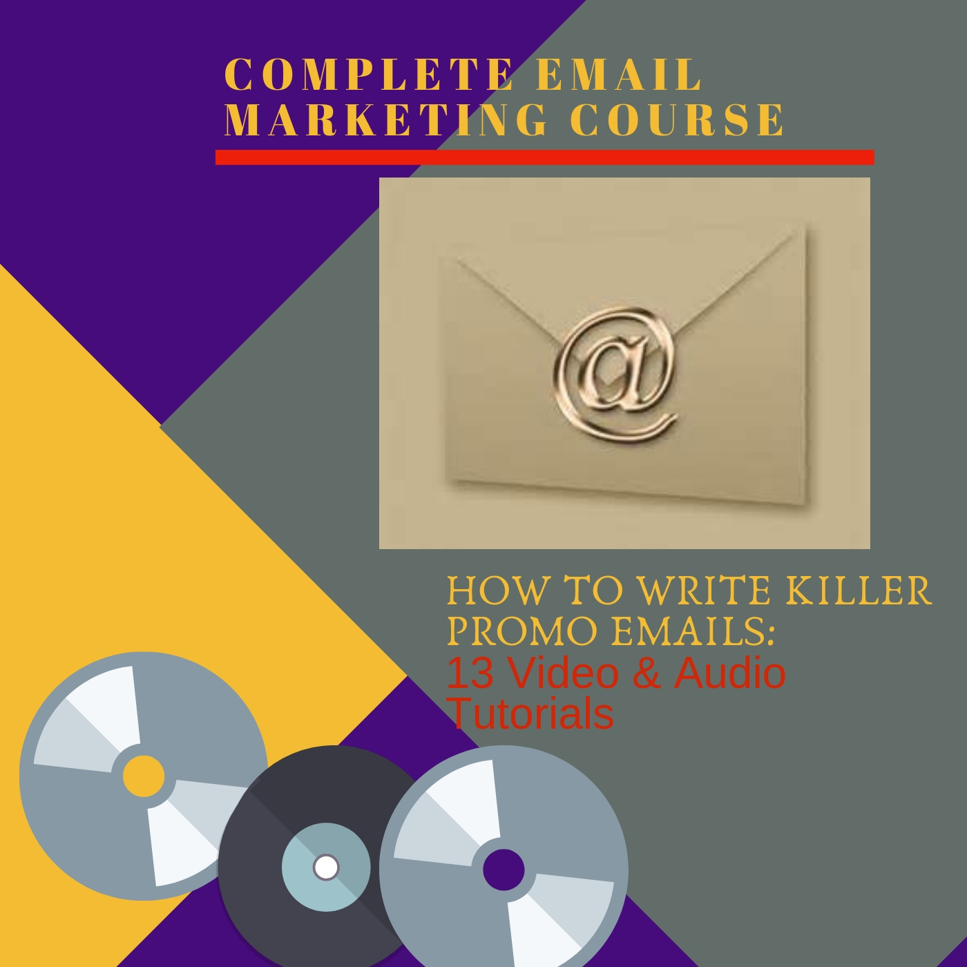 I WILL SEND YOU A COMPLETE EMAIL MARKETING COURSE