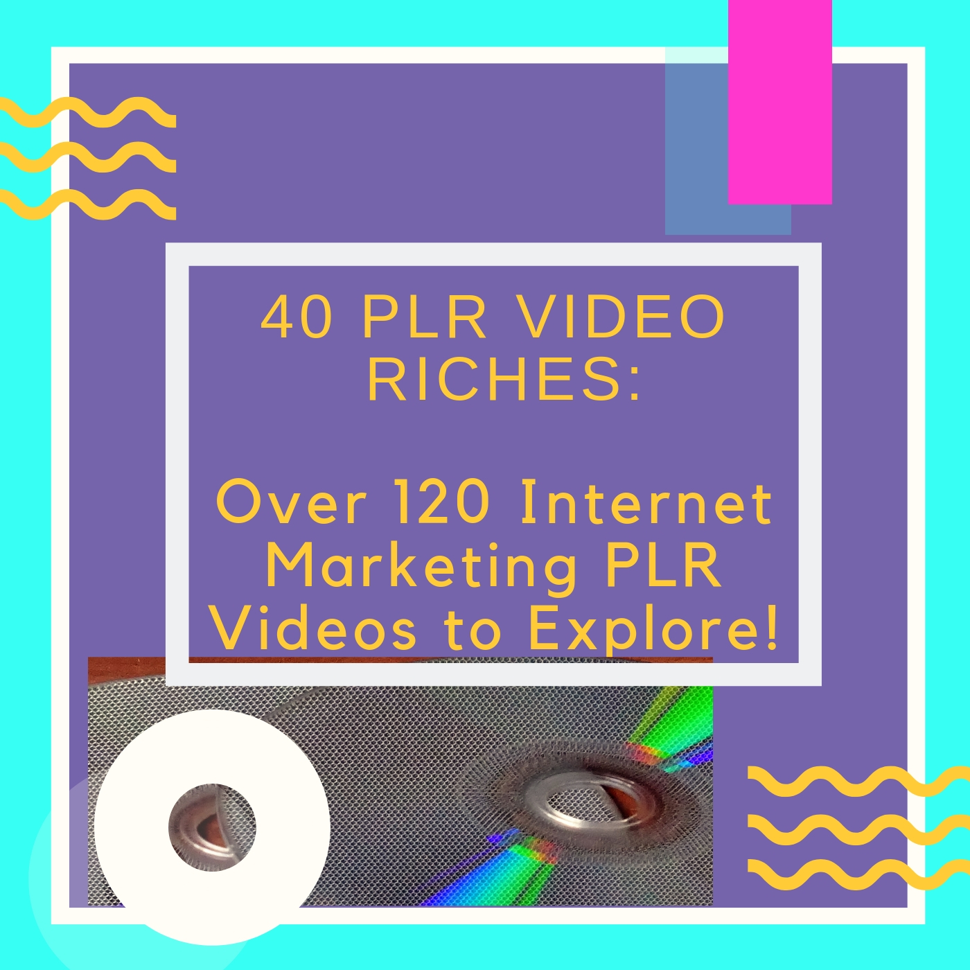 GET AMAZING 40 PLR ONLINE MARKETING COURSES VIA VIDEO