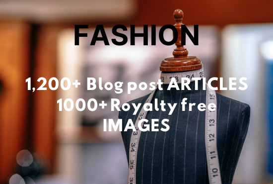 1200+ articles and 1000 HQ images about FASHION