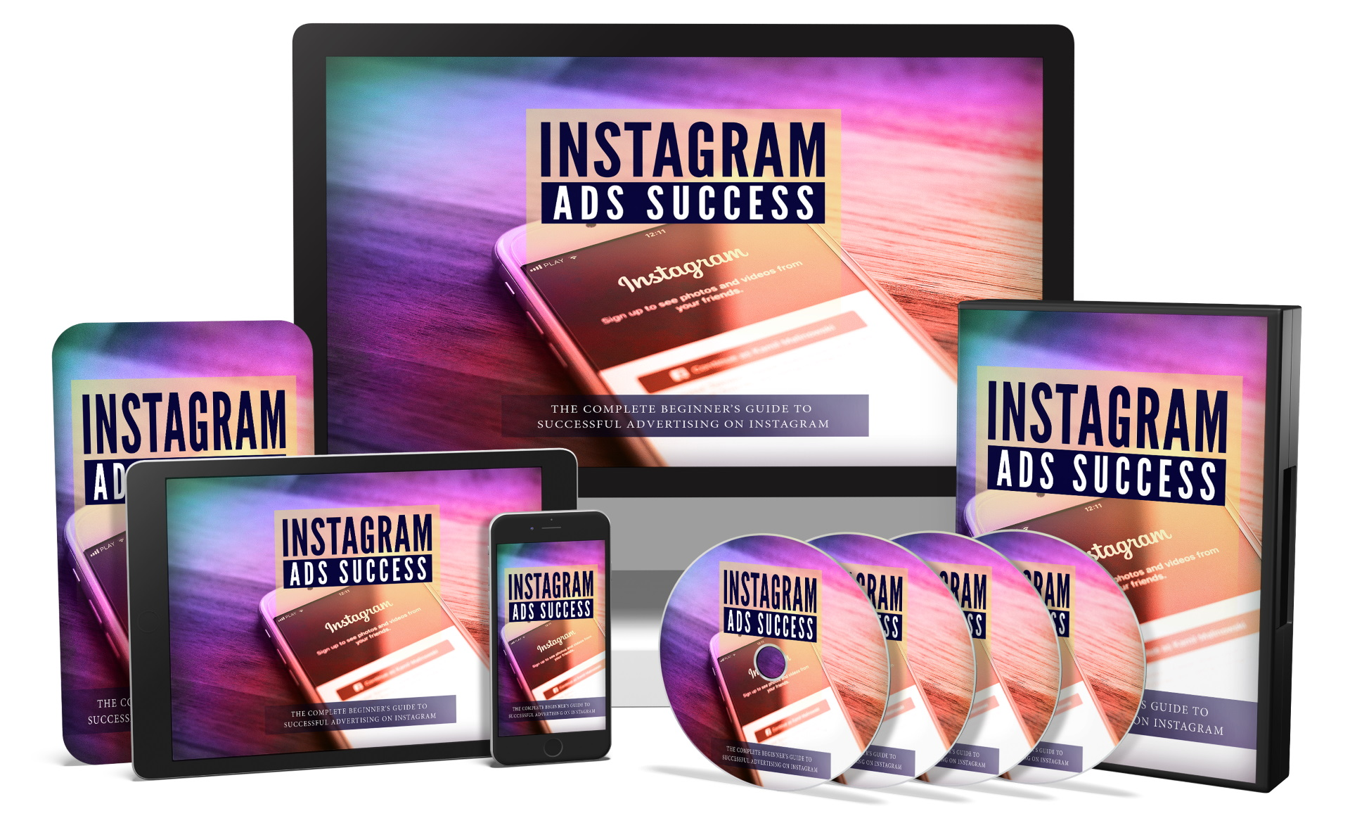 I will give you Instagram Ads Success Video Course and Reselling Tools