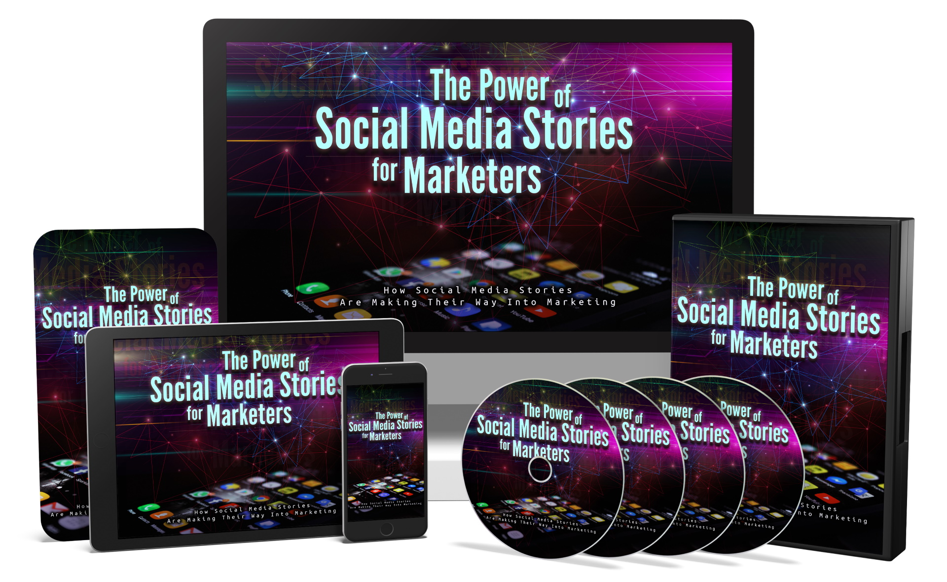 I will give you The Power of Social Media Stories video course with reselling tools