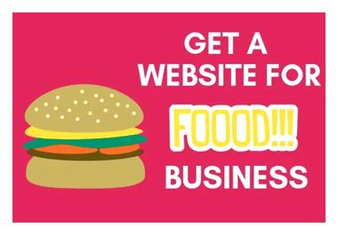 Build wordpress website for your restaurant business