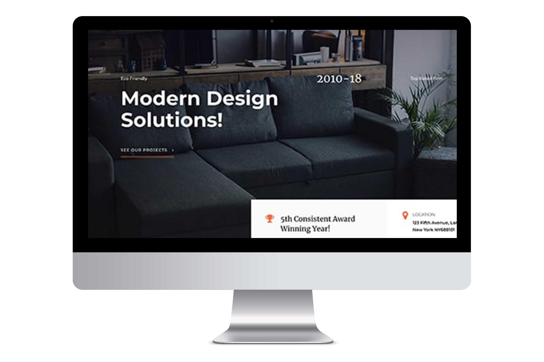 Website for Interior Design Firm