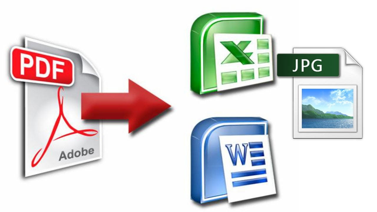 Convert your PDF Document files to Excel,  word files Typing
