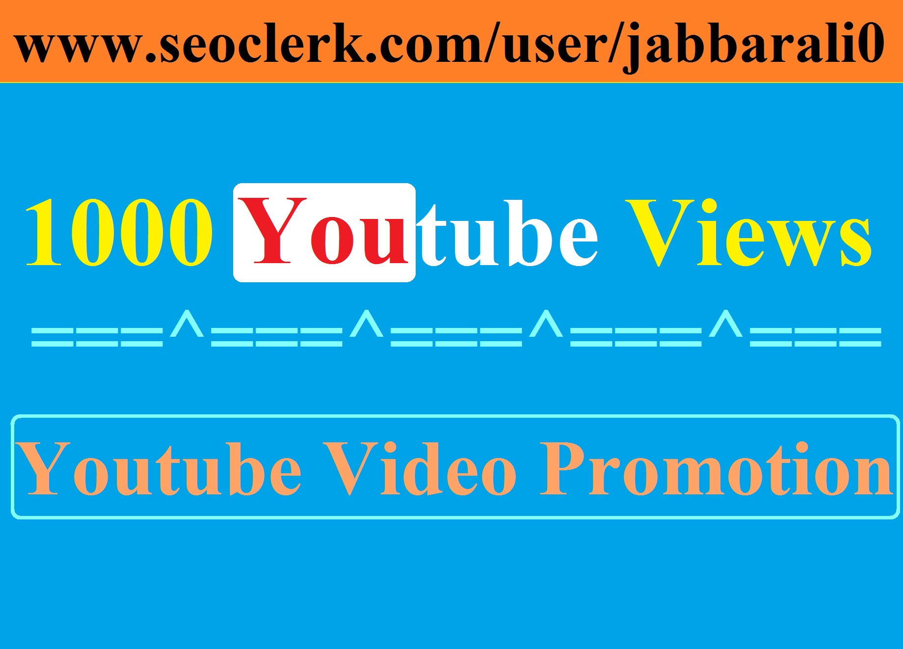 2000 VlEWS and 20 LlKE for YOUTUBE VIDEO PROMOTION