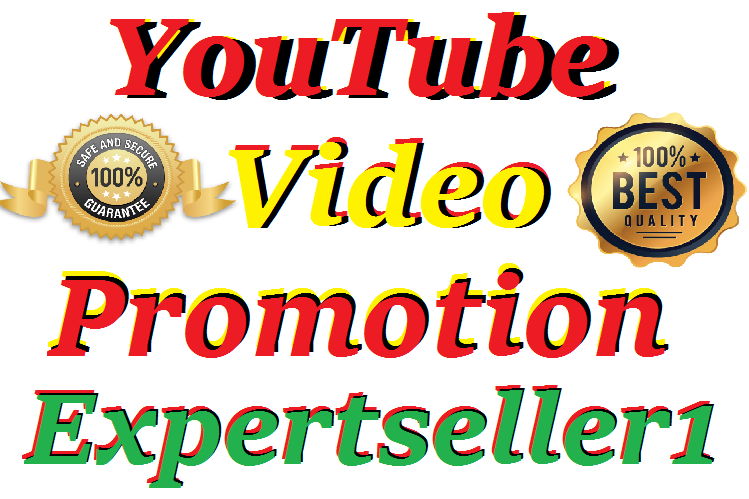 Best HQ All Package Safe And Secure YouTube Video Promotion Social Media Marketing