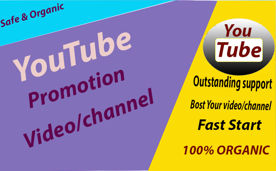 Safe High Quality Youtube Promotion & Marketing Via Social Media