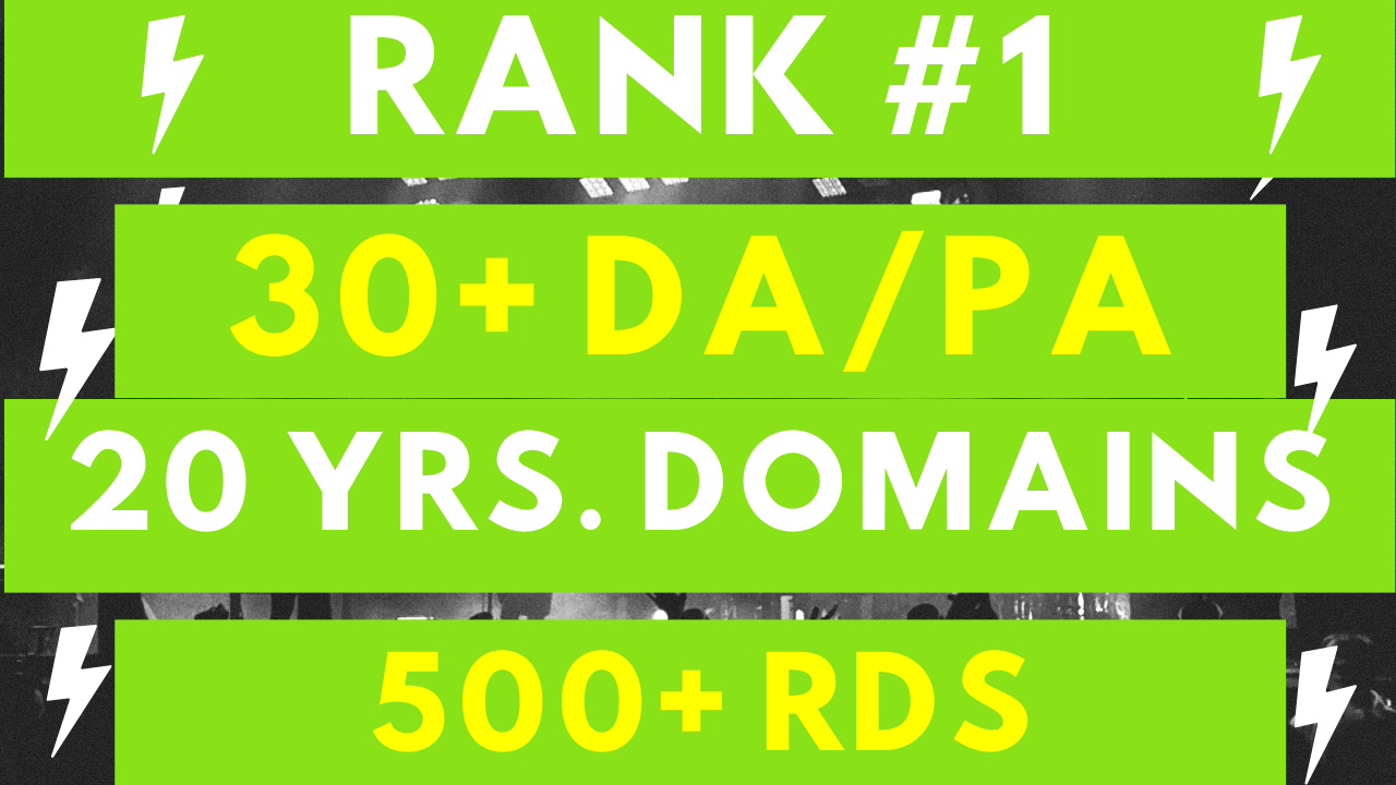 15 Authority PBN Backlinks for Top Rankings in 30 Days