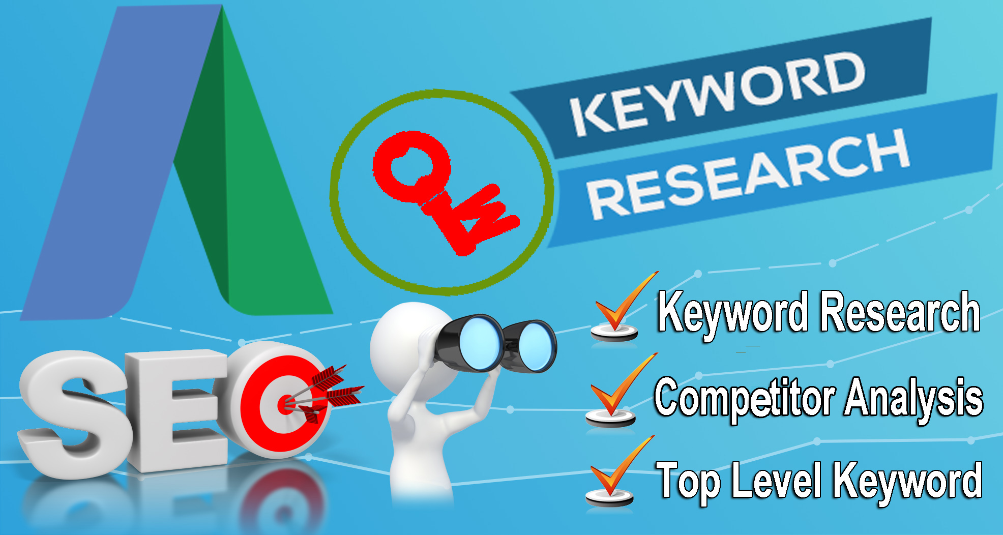 I will do Amazing SEO keyword research and competitor analysis
