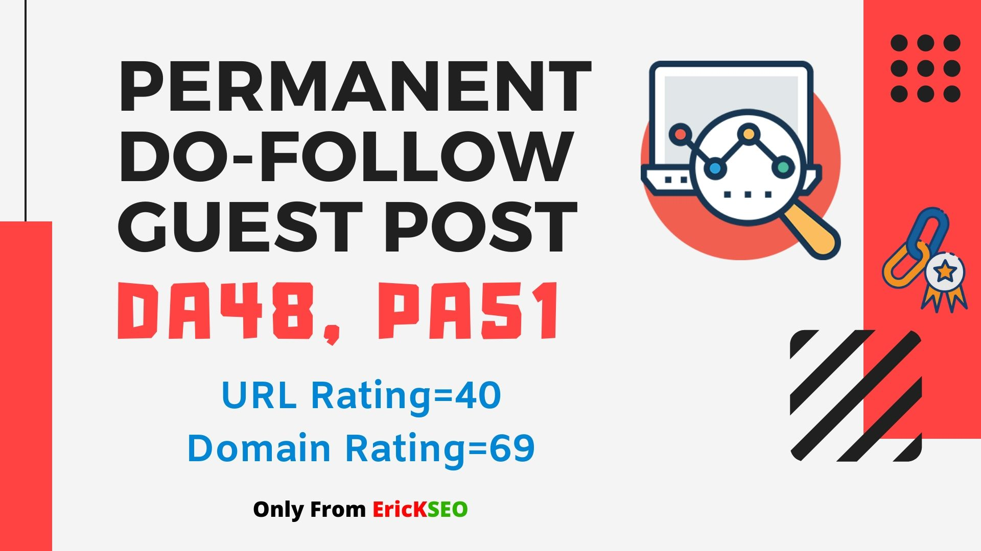 Write and Publish High Quality Article with Dofollow Backlink on DA48 Website