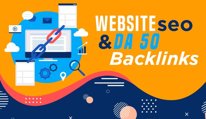 create 10 high authority seo backlinks from DA 50
