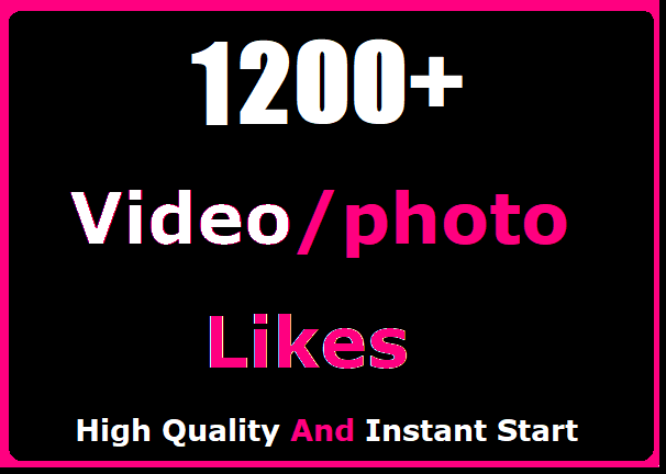 1200+ Social Likes Promotion Instant Start And High Quality