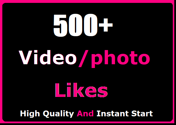 500+ Social Likes Promotion Instant Start And High Quality