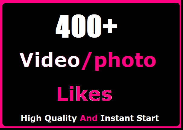 400+ Social Likes Promotion Instant Start And High Quality