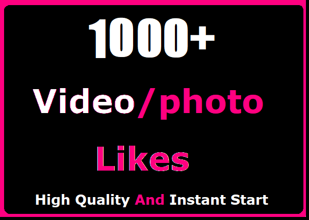 1000+ Social Likes Promotion Instant Start And High Quality