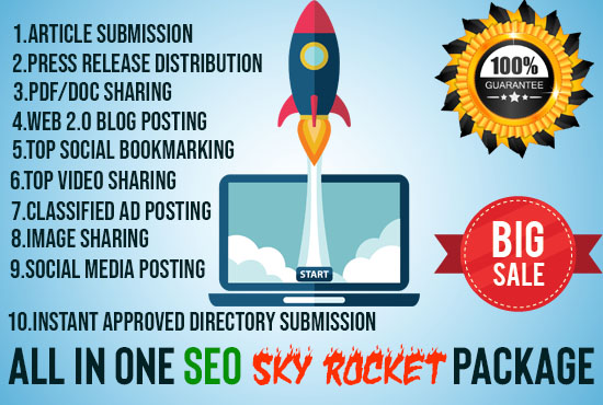 Flash Sale-Manually Do 150 BackIinks All In One SEO Link Building Package