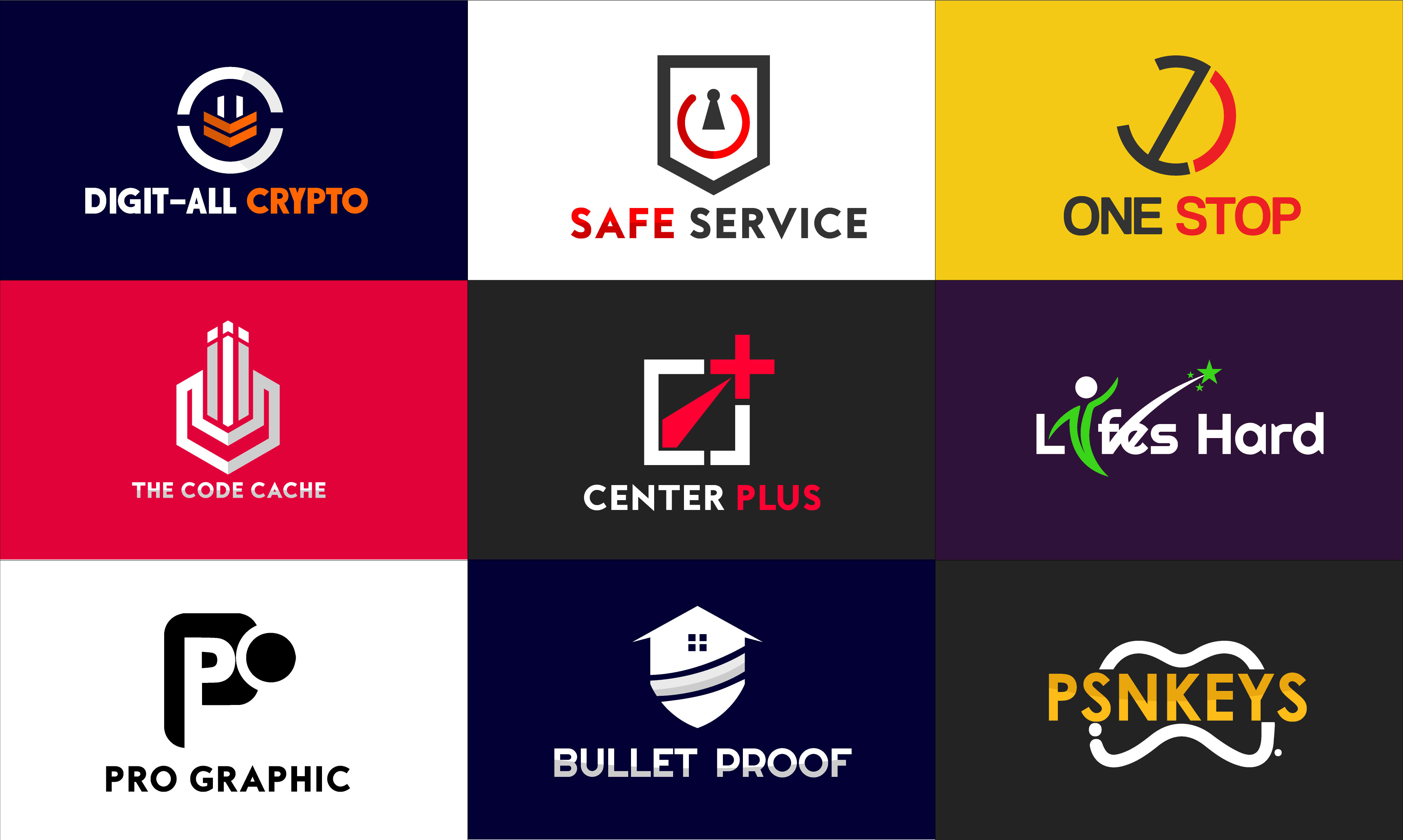 I will do modern and eye catching business logo design