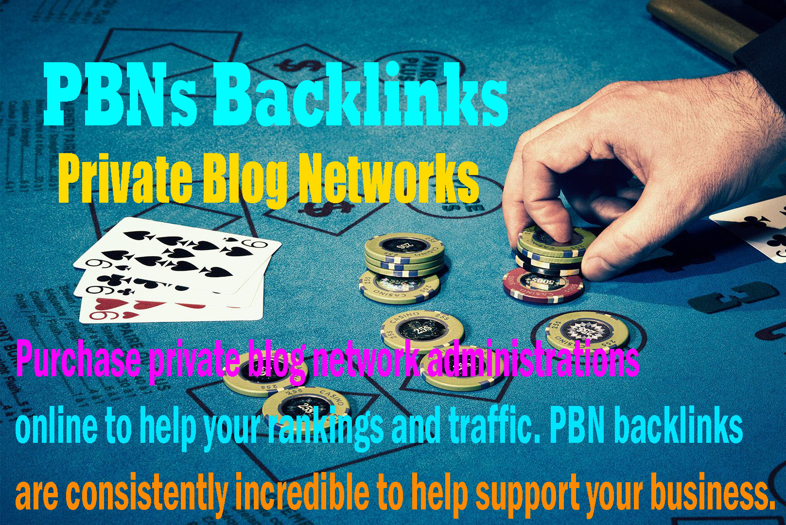 I will give you 200 casino / poker / judi bola / gambling site high quality pbn backlinks