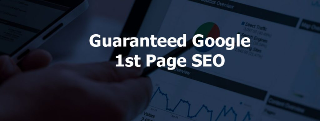 Rank your website on Google 1st page guaranteed service