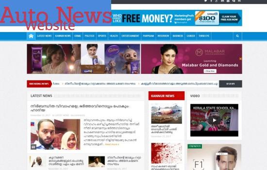 Create Professional Unique Autopilot News Website